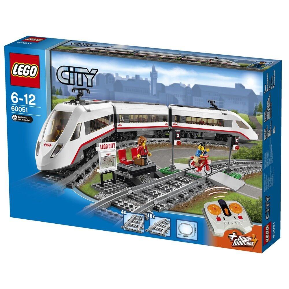 Lego City 60051 High-speed Passenger Train BRAND NEW SEALED BOX