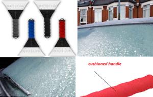 Raspador de hielo coche parabrisas Heavy Duty Frost /& Ice Raspador de nieve con apretones suaves