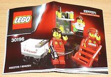 Lego Ferrari Bauplan für 30196, only instruction