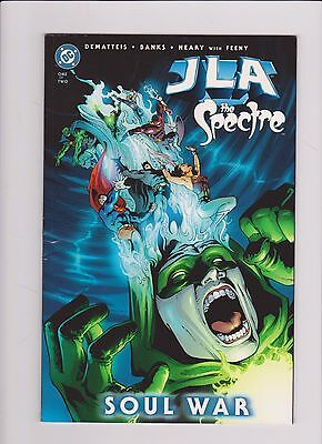 JLA The Spectre Soul War #2 2003 DC Comics Dematteis Banks Neary  Justice League