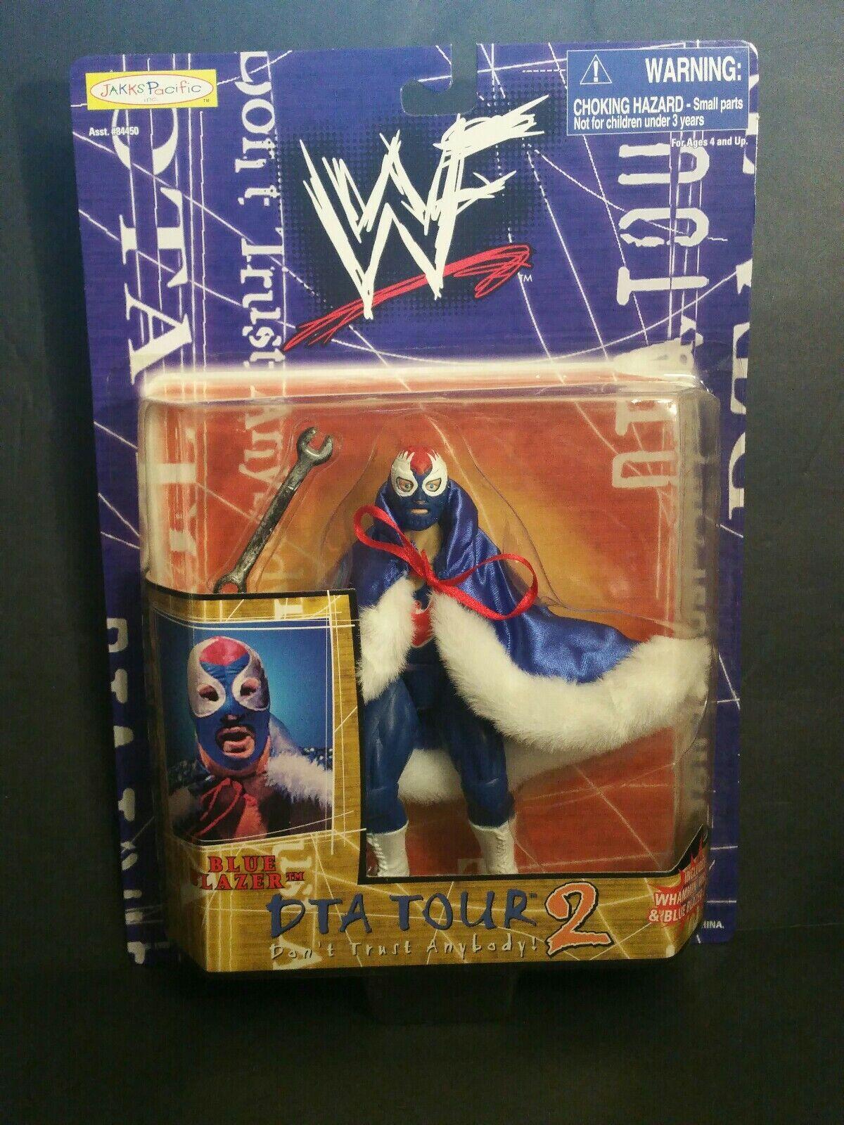 punto de venta en línea WWF DTA TOUR Blazer Azul Azul Azul 2 figura de acción (107) (3-12)  servicio de primera clase