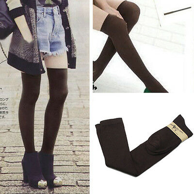 Long Over The Knee Cotton Socks Thigh High Soft Cotton Stockings For Women Girls