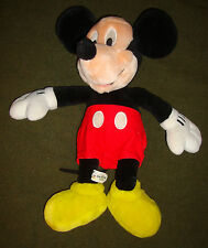 """MICKEY/MOUSE/PLUSH/DOLL/is/VERY/CLEAN! (unisex) 18""""/Height (DISPLAYED/ONLY)NICE!"""