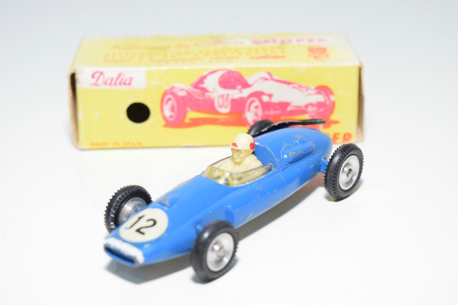 SOLIDO DALIA 116 COOPER RACING CAR F1 azul EXCELLENT BOXED RARE SELTEN RARO
