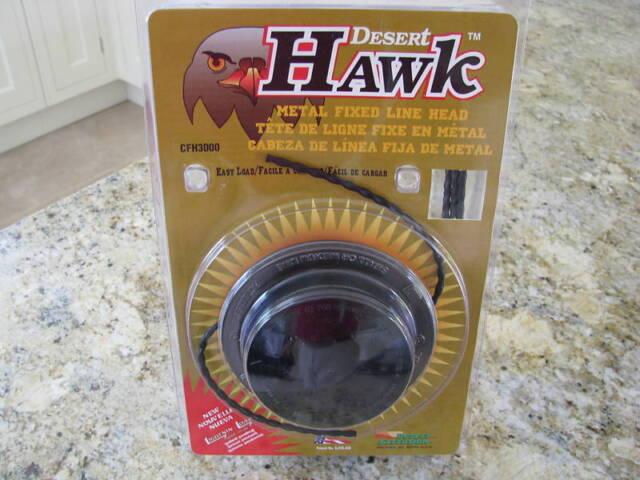 Metal Fixed Line Head Fits most Petrol Strimmers//Trimmers Desert Hawk Head