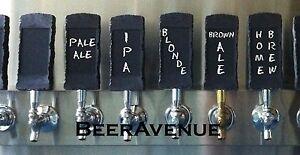 Chalkboard stone looking kegerator beer tap handle - NEW chalk board