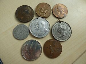 Tokens / Medals, Coronation, Pope . Choose Yours. Each item has its own pictures
