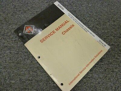 2002 2003 International 7600 8500 8600 Truck Electrical Wiring Diagram Manual Ebay