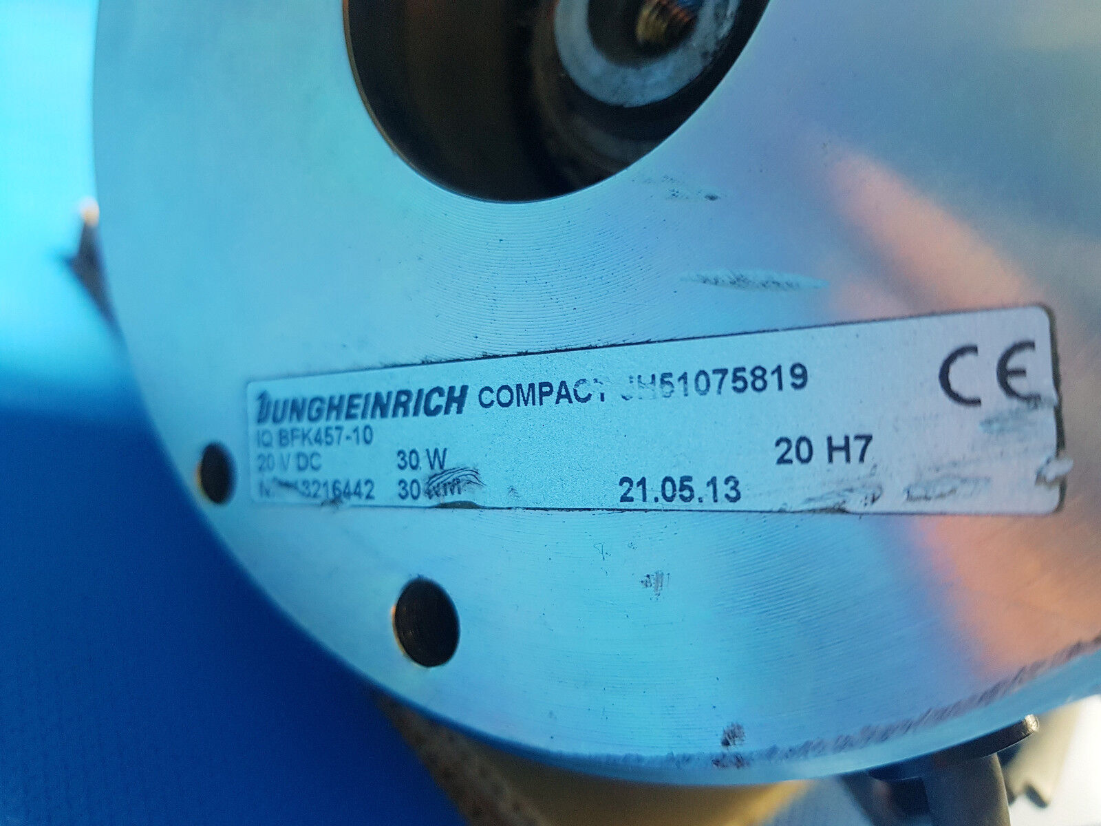 JUNGHEINRICH af4f6-b1-1 2,8 vitesses, Kw MOTEUR 140 a 51109507 avec boîte de vitesses, 2,8 Frein 51075819 e480c3