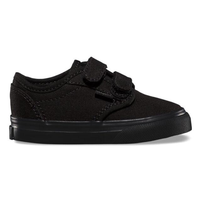 92eefe9e8f VANS Vn-0rqx186 Toddlers Atwood V Canvas Black Skate Shoe 6 M US ...
