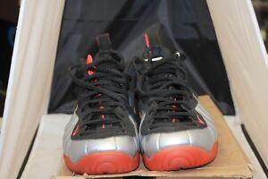9a5ca7b351c Image is loading Nike-Air-Foamposite-Pro-Crimson-Metallic-Platinum-624041-
