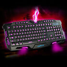 Ares K1 3 Colors LED Backlit USB Wired Multimedia PC Laptop Gaming Keyboard