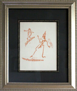 Max-ERNST-Lithograph-ORIGINAL-Limited-EDITION-1970-Frame-Included