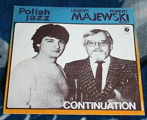 HENRYK-ROBERT-MAJEWSKI-SEXTET-CONTINUATION-1987-POLISH-LP-MUZA-SX-2445