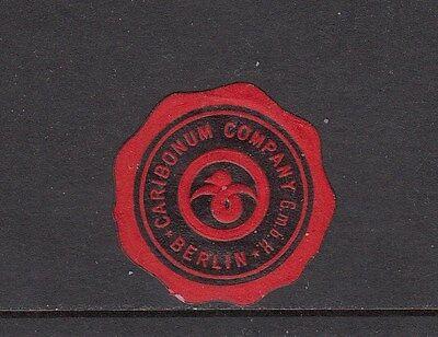 402960/ Siegelmarke - Caribonum Company Gmbh - Berlin