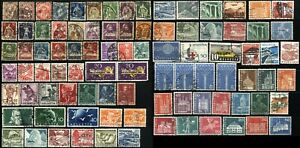 80-SWITZERLAND-Postage-Stamps-Collection-Used