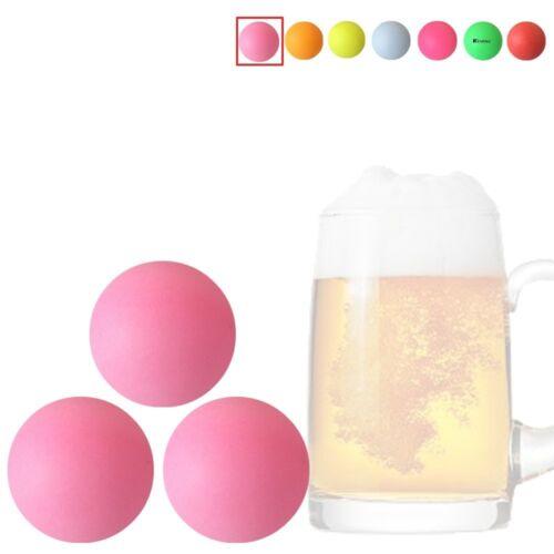 Kevenz 40 mm bière ping-pong multipul Color Balls lavable plastique Glow in the Dar