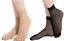 10 Pairs Black /& Nude Ankle Nylon Socks Sheer ankle high tights hosiery socks