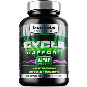 Cycle Support - 120 Capsules | On Cycle Support with Choline to support Normal |