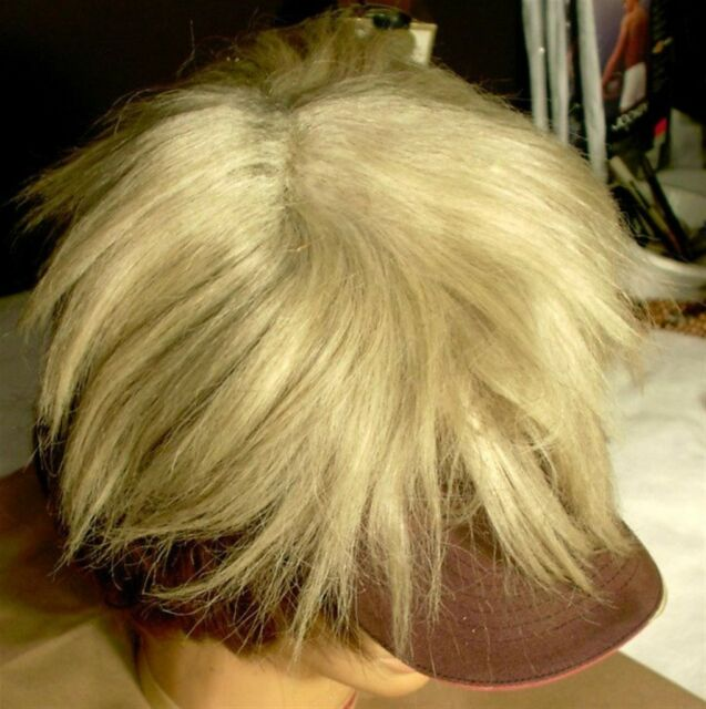 Vintage Antique Men's Hair Toupee Old Replacement Hairpiece Blond Toehead Color