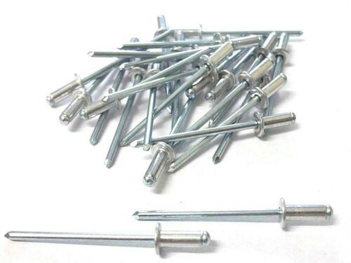 Pack of 25 3.2 x 10mm Details about  /Aluminium pop rivets Top Quality Blind rivets