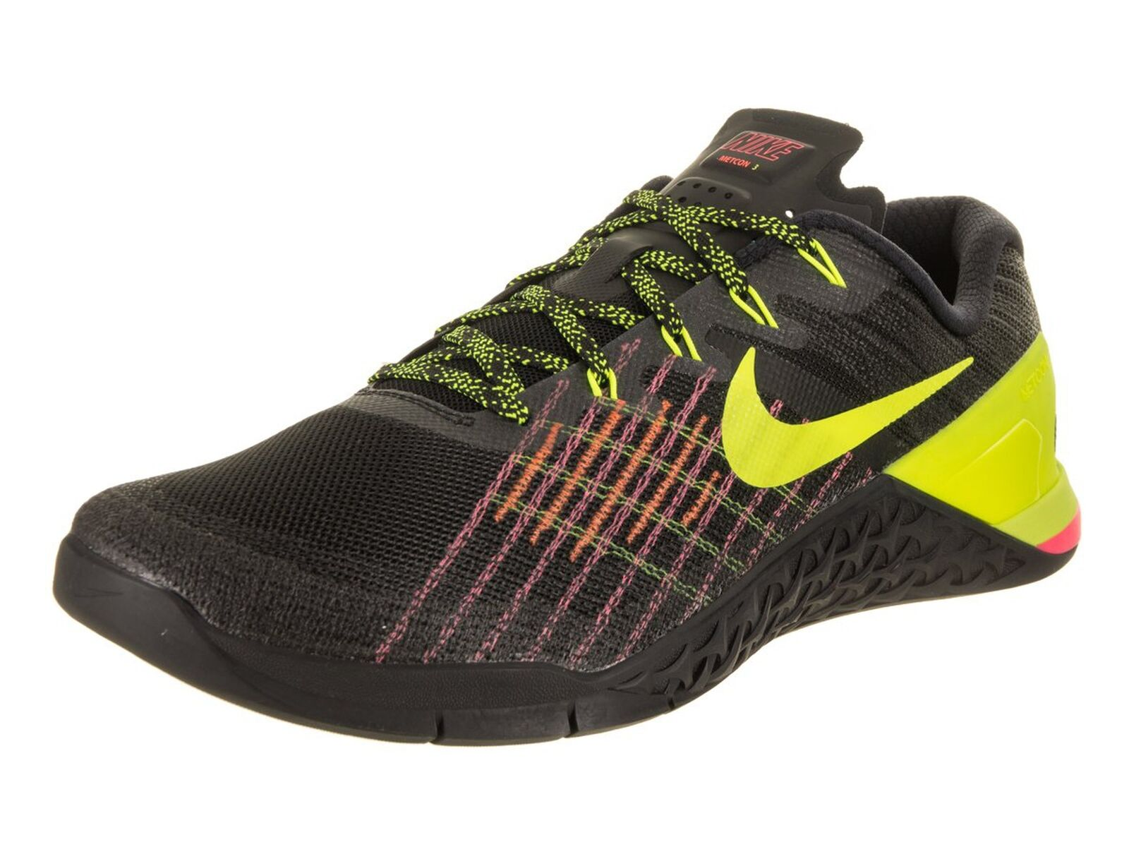 NIKE Men's Metcon 3 Training scarpe nero   Volta -Hyper Crimson -Hot Punch 11.5  design unico