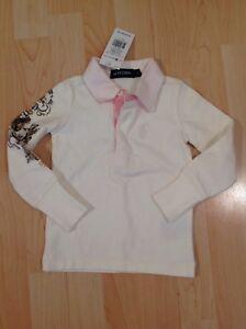 Polo Ralph Lauren Fille Crème Rugby Shirt Pour 2 Ans Bnwt-afficher Le Titre D'origine En Voyageant