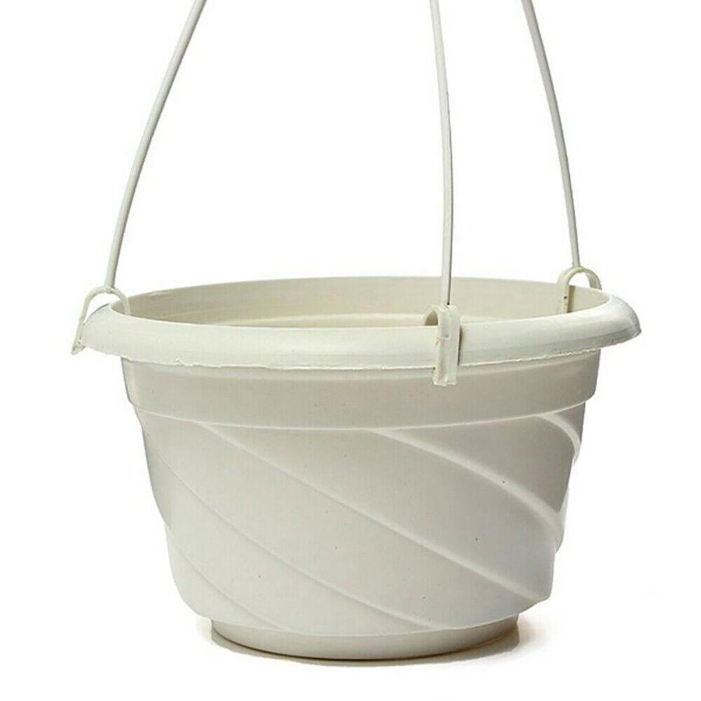 Home Garden Balcony Hook-type Hanging Flower Plant Pot Basket Planter Holder DO