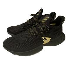 adidas alphabounce instinct black and gold