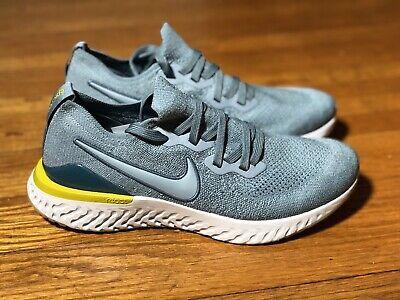 Habubu Por favor mira eficaz  Nike Epic React Flyknit 2 ' Aviator Grey ' - Size 8.5 - BQ8928-005 | eBay