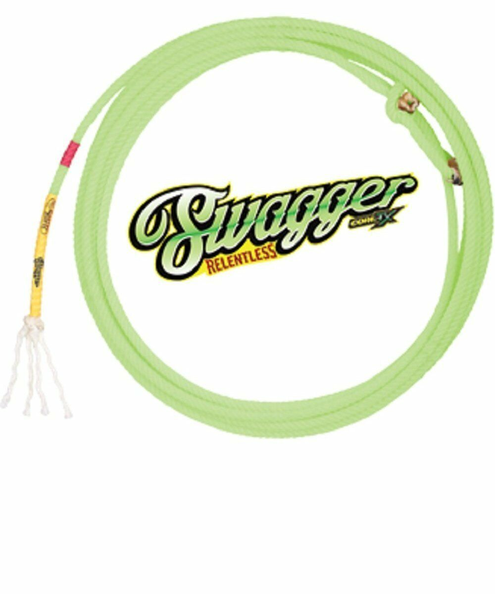 CACTUS ROPES SWAGGER RELENTLESS 4-STRAND TEAM ROPING HEAD ROPE