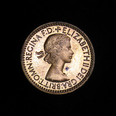 Excellent Coin 1953 GREAT BRITAIN FARTHING Farthing Bin #2 FREE SHIP