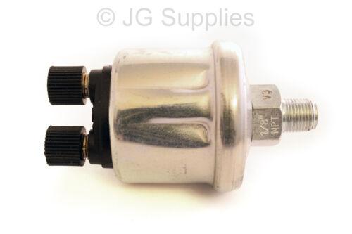 150 PSI Sender 1//8-27 NPT IR replaces VDO unit 2 post Oil Pressure 10 bar