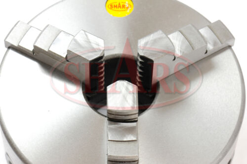 "5/"" 3 Jaw Self Centering Lathe Chucks w// Certificate TIR 1-10 Back Plate New"