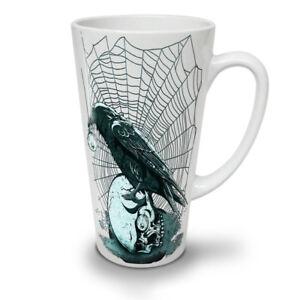 Raven Skeleton Rock NEW White Tea Coffee Latte Mug 12 17 oz | Wellcoda