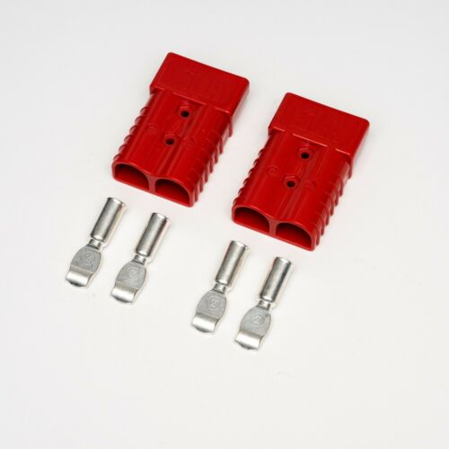 175A red Anderson type connectors and terminals 1//0 gauge 50mm2