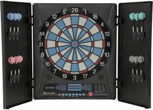 Electronic Dartboard 12 Darts Playing Rules Included Cabinet