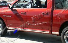 09-17 Dodge Ram 1500 2500 Crew Cab 8' Long Bed No Flare Lower Rocker Panel Trim