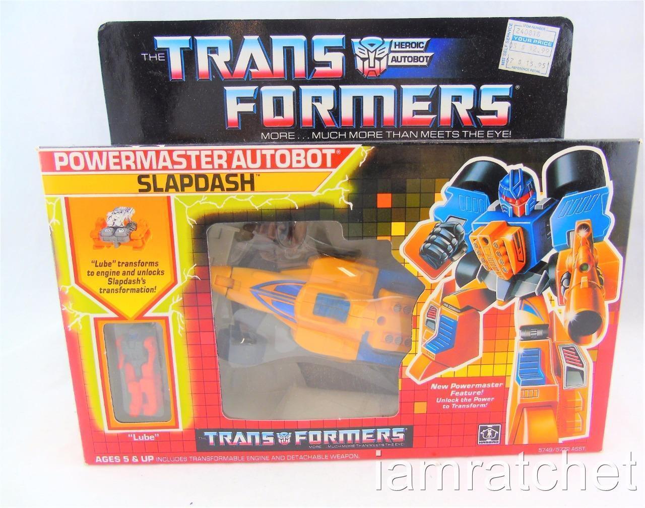 mejor calidad mejor precio Transformers Original G1 Powermaster descuidada Completo Con Caja pegatinas pegatinas pegatinas de burbuja  barato y de alta calidad
