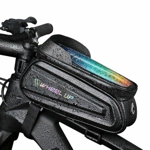 7.0 inch Touch Screen Phone Case Bag Bike Bicycle Front Top Tube Bag Waterproof