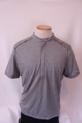 New Giro Men/'s Ride Jersey Cycling Bike Large Gray Short Sleeve Top Merino Wool