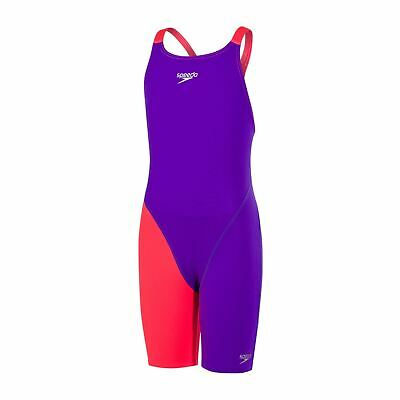Royal Purple//Psycho Red, 30 // 12 years Swimming Jammers Speedo Boys Fastskin High Waist Endurance