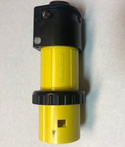 6 PCS! T/&B Russellstoll cat no LOT OF 6 9P54U2T-1100 50A 250VAC 3P  Plug..