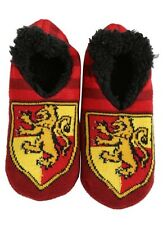 Harry Potter Gryffindor Cozy Fluffy Slipper Socks Anti Slip Soles New With Tags!