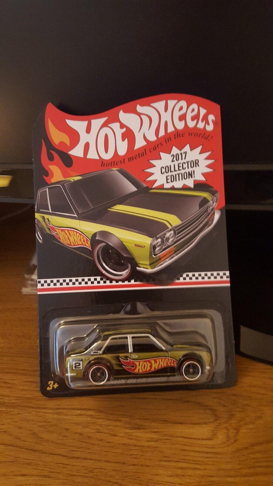 Hot Wheels 2017 collectors edition edition edition Datsun blueebird 510 from Kmart c4ccf6