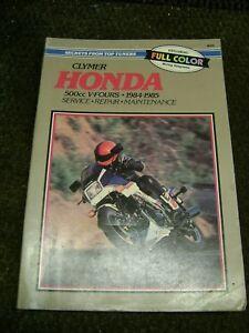 honda vf500f vf500c 1984 1985 1986 service repair manual