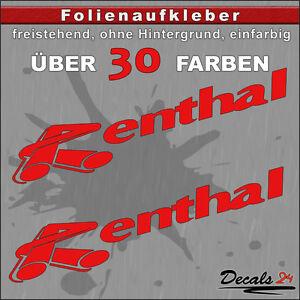 2er-SET-RENTHAL-Sponsoren-Folienaufkleber-Auto-Motorrad-30-Farben-15cm