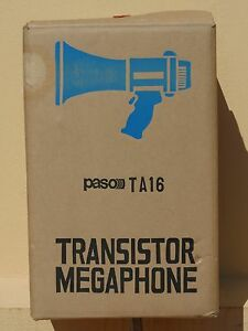 2019 DernièRe Conception Megafono Regista Model Ta16 Performance Fiable
