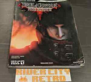 Details about Final Fantasy VII Dirge of Cerberus Official Bradygames  Strategy Guide PS2 Book