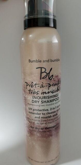 Bumble and Bumble Pret A Powder Dry Shampoo Nourishing Dry Damaged Hair 3.1 oz